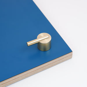 Colchester Brushed satin Brass