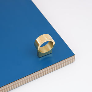 Rollo mirror polished brass