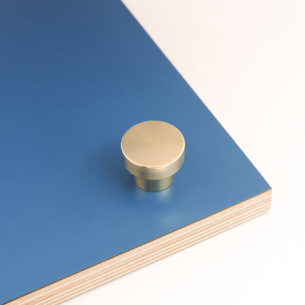 Hobson brushed satin brass