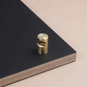 Faircut brass handle brushed satin finish