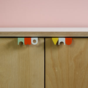 Symbols handles coloured