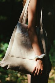 Towelling Bag - Natural