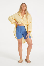 Classic Cover Up Shirt - Lemon