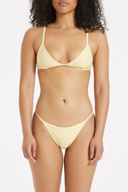Signature Skimpy Tricup Top - Lemon