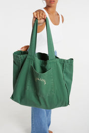 Zulu & Zephyr Canvas Bag - Tallow Green
