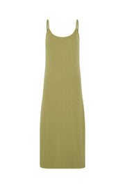 Signature Rib Knit Dress - Olive