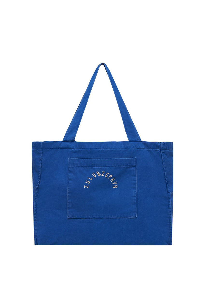 Zulu & Zephyr Canvas Bag - Sea Blue
