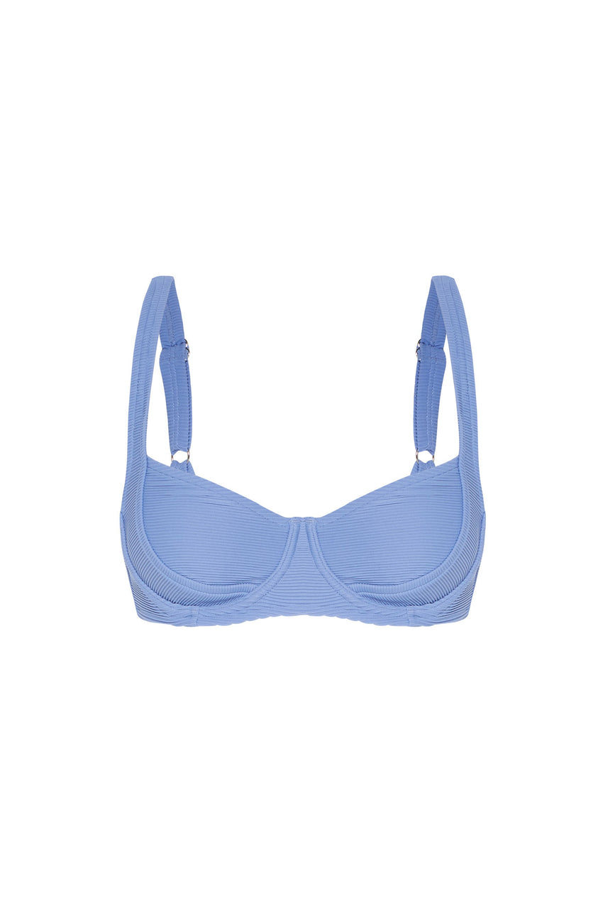 Signature Bracup Top - Sea Blue