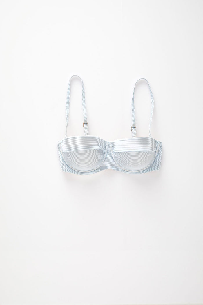 Signature Moulded Bracup Top - Powder Blue