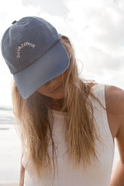 Zulu & Zephyr Canvas Cap - Sea Blue