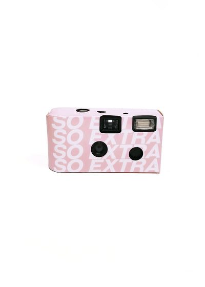 SO EXTRA DISPOSABLE CAMERA