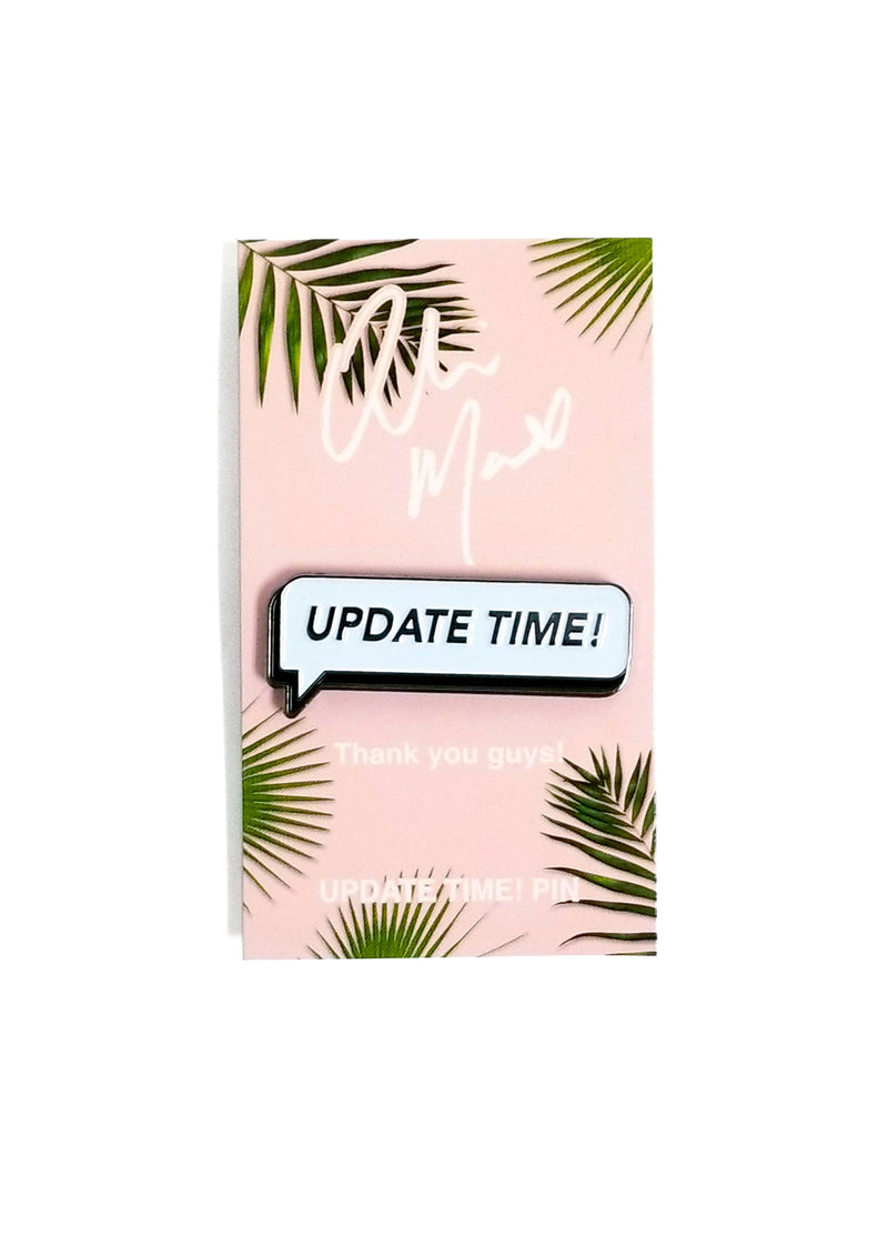 UPDATE TIME PIN