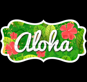 Luau-Hawaiian Set