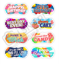 Load image into Gallery viewer, Kids Bday Set