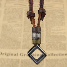 Load image into Gallery viewer, Adjustable Leather Necklace