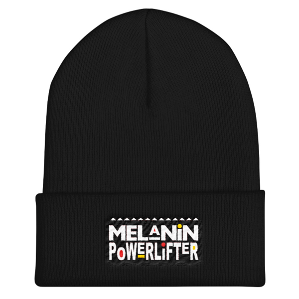 "The Melanin PowerLifter 12"" Cuffed Beanie"