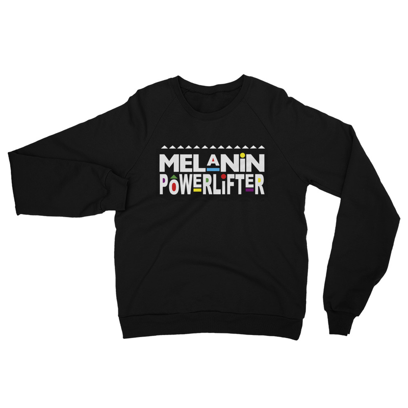 Melanin Powerlifter Sweat Shirt UNISEX