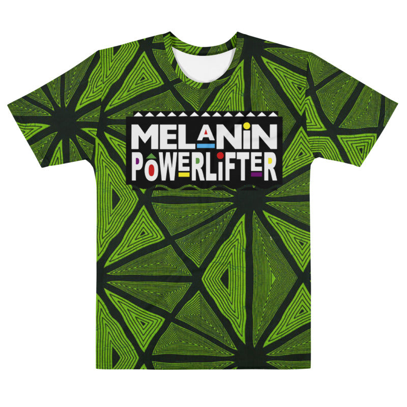 Emerald  Melanin Powerlifter T-Shirt