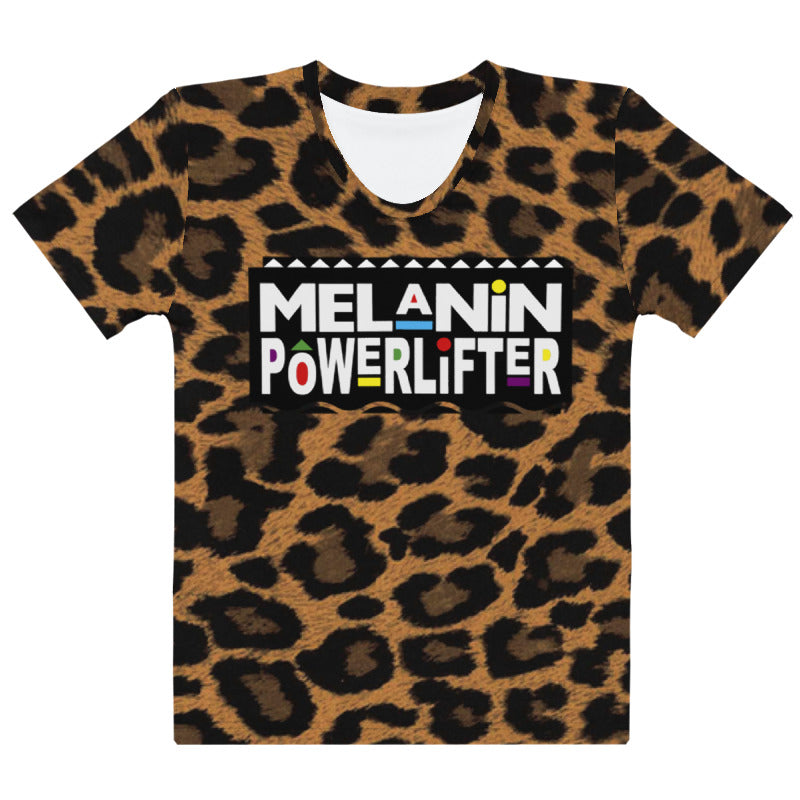 Safari Melanin Powerlifter T-Shirt
