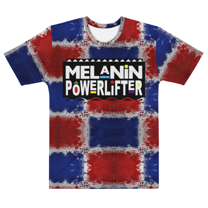 Dominican Republic Melanin Powerlifter T-Shirt
