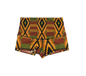 Kente  Mini Shorts