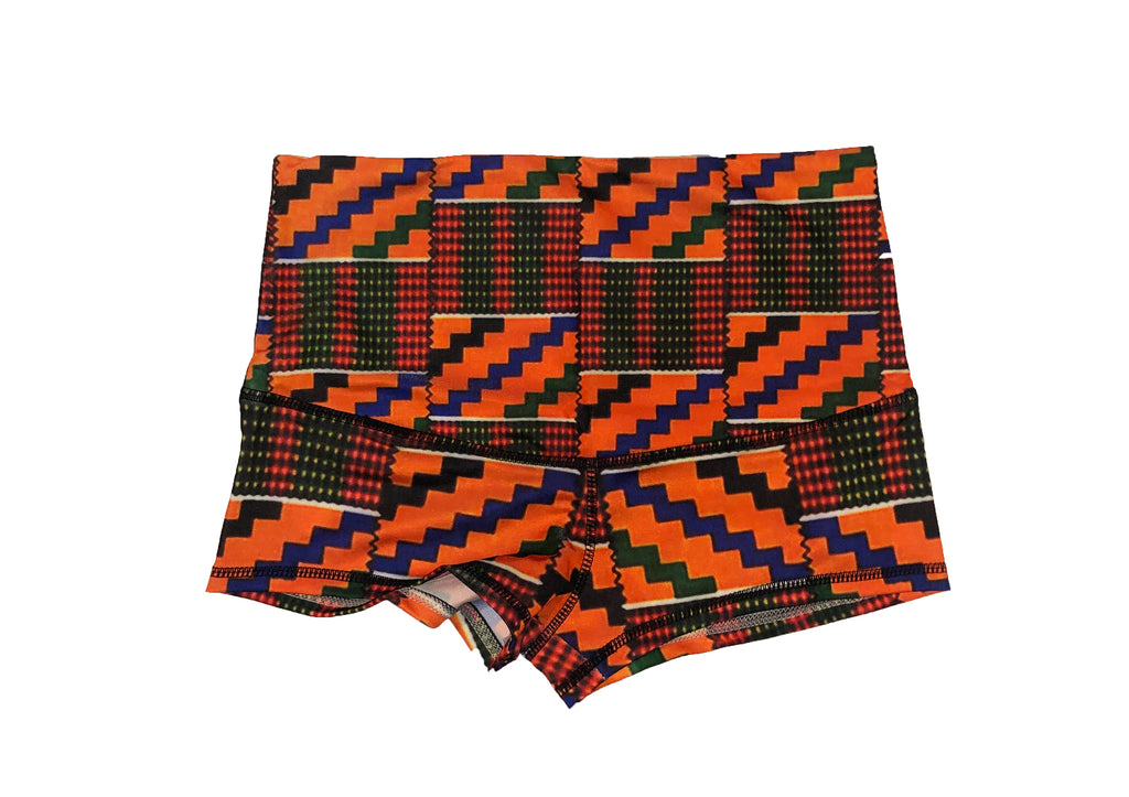 Girls Like Me Kente Limited Shorts