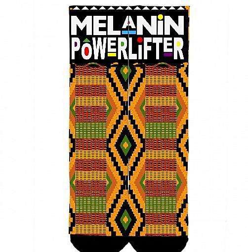 KENTE deadlift socks