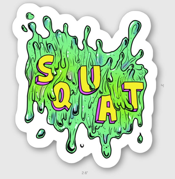 Squat Sticker