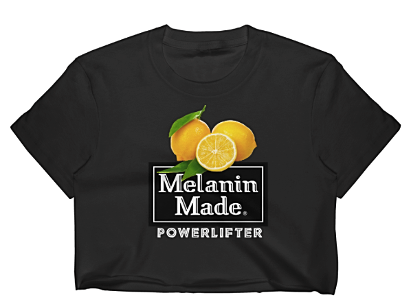 Melanin Powerlifter Crop