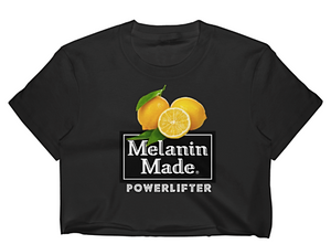 Melanin Made Powerlifter Crop