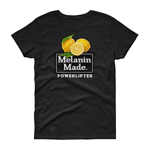 Melanin Made Powerlifter Tee