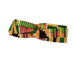 Kente Twist Headband