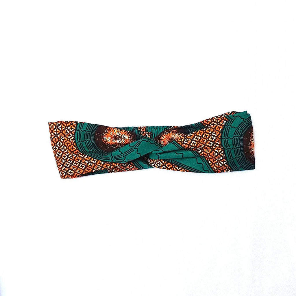 Wax Print twist Headband