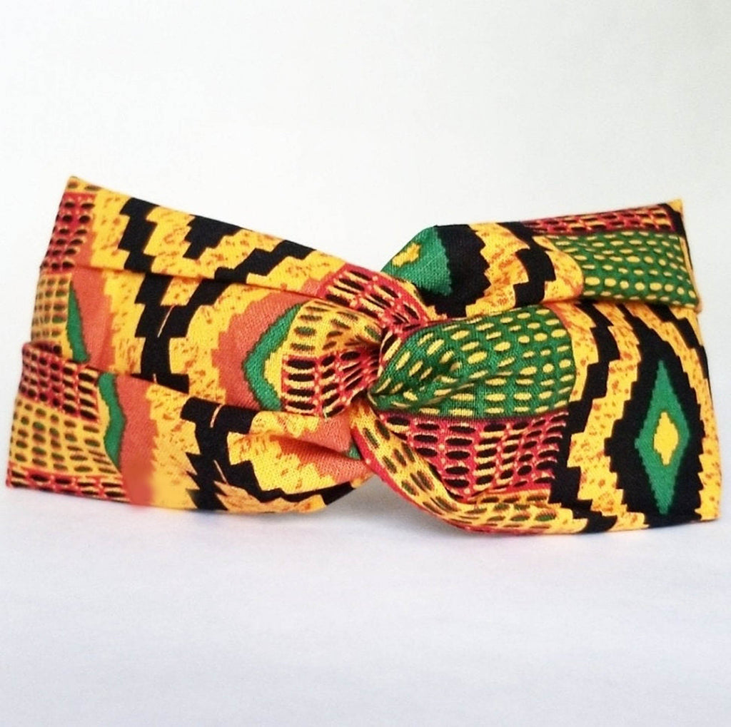Kente 2 Twist Headband