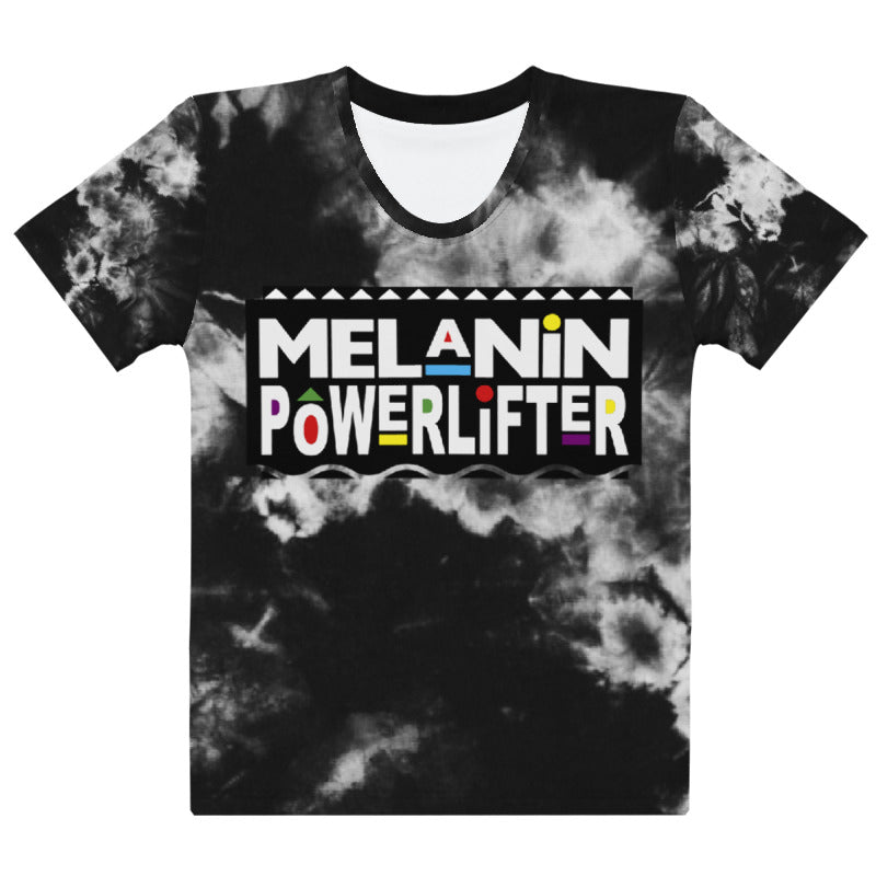 Black Friday Melanin Powerlifter T-Shirt