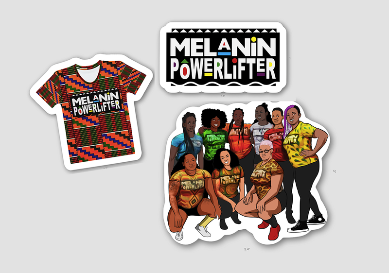 Melanin Powerlifter Pack