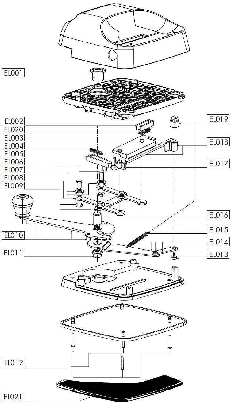 EL004 - Tube Clamp Spring