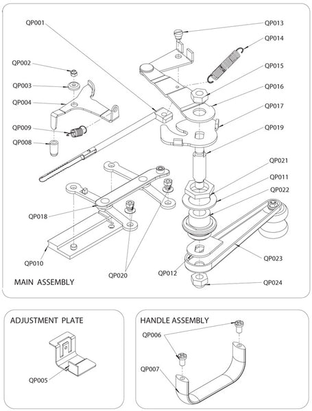 QP004 - Tube Clamp Release
