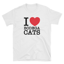 Load image into Gallery viewer, I Love Bodega Cats Tee (Black)