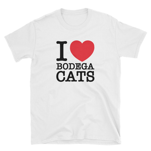 I Love Bodega Cats Tee (Black)