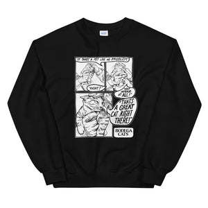 Great Cat Unisex Crewneck Sweatshirt