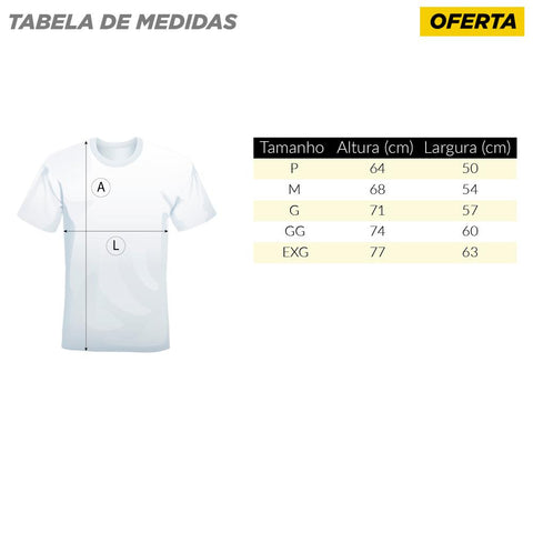 Kit 10 Camisetas Usina