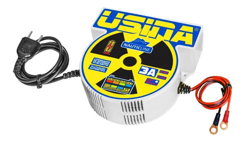 Carregador Inteligente De Baterias Usina Nauticline 3a 12v