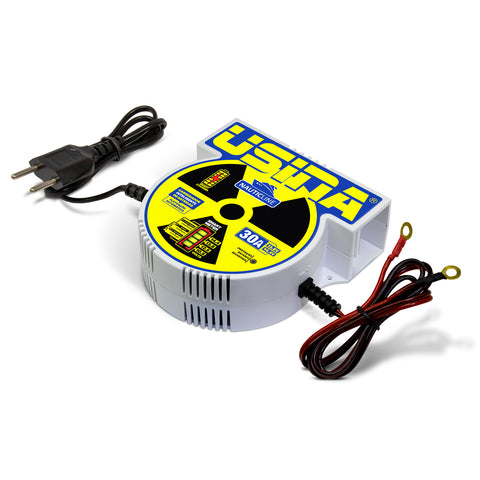 Carregador Inteligente De Baterias Usina Nauticline 30a 12v