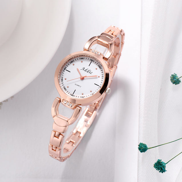 Addic Crisply Yours Rose Gold Girls & Women's Watch