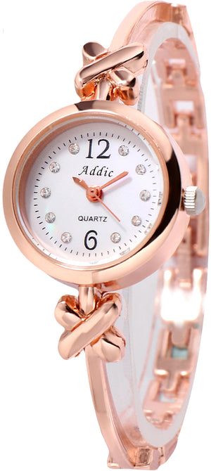 Addic Gift Of Love Charming Rose Gold Women's & Girls Watch