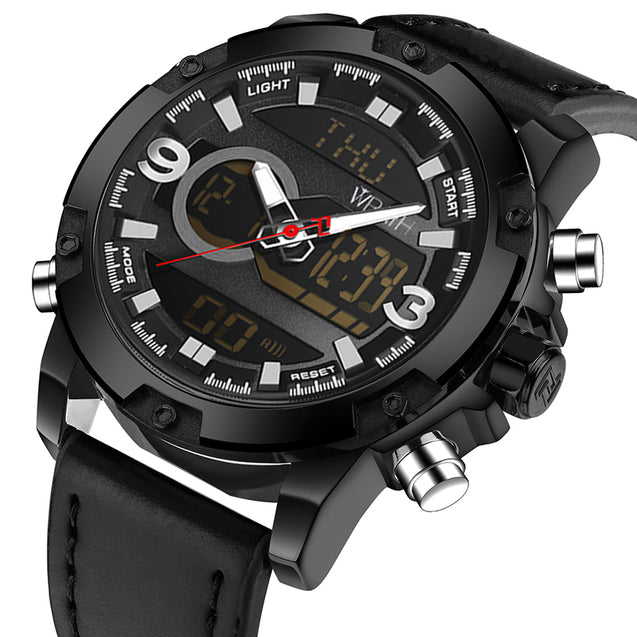 Wrath CEO's Choice Black Analog-Digital Multi-Function Luxury Watch For Men & Boys