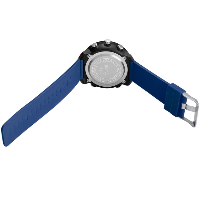 Digilog Classy Crosshairs Blue Analog-Digital Dual Display Multi Function Watch for Men & Boys