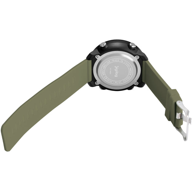 Digilog Force Military Green Activewear Classy Digital Multi Function Watch for Men & Boys