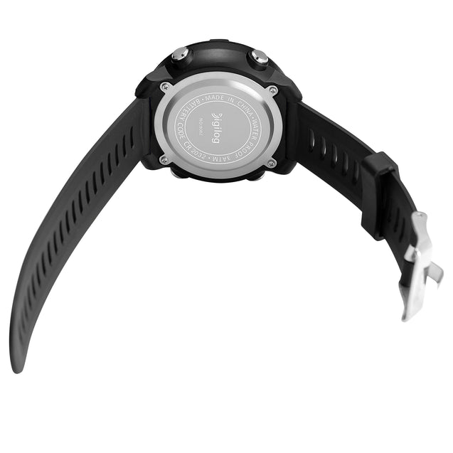 Digilog Black Commando Black Dial Digital Multi Function Watch for Men & Boys